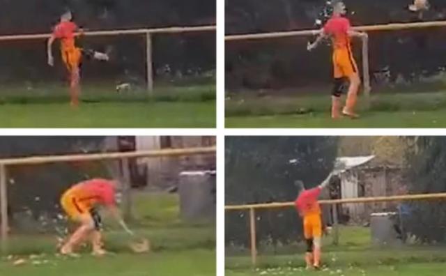 Prijatelji životinja prijavit će hrvatskog nogometaša koji je šutnuo kokoš: 'Nije zastao da provjeri kako je, niti pokazao žaljenje'