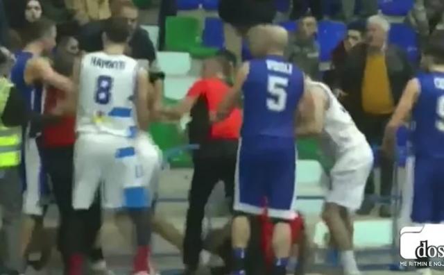 Nokautirao suca i zaradio doživotnu zabranu igranja košarke
