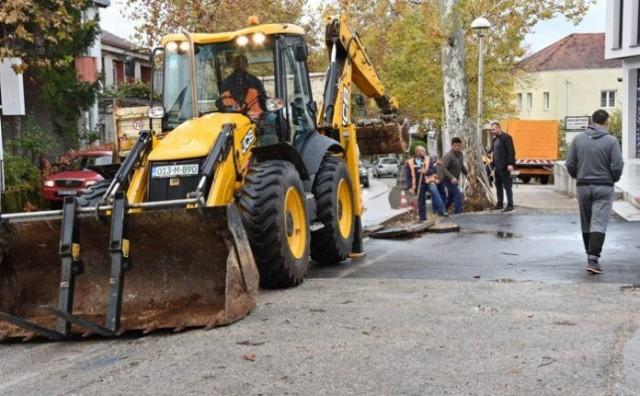 U tijeku obnova magistralne ceste M-17.4 u središtu Čitluka