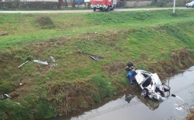 U prometnoj nesreći kod Srpca dvije osobe ozlijeđene