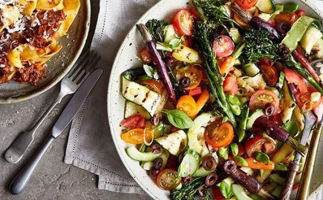 Neodoljivi spoj povrća uz preljev od šafrana