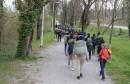 Migranti s bebom preko surove Plješevice krenuli u Hrvatsku