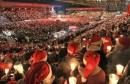 BOŽIĆNA BAJKA U BERLINU 28.000 navijača na stadionu pjevalo božićne pjesme