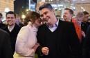 UVJERLJIVA POBJEDA Milanović osvojio 103 675 glasova više od Grabar-Kitarović