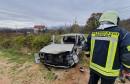 Prometna nesreća u Hodbini, Golf potpuno uništen