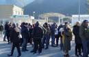Unatoč niskim temperaturama i jakom vjetru aktivisti proveli noć na odlagalištu Uborak kod Mostara