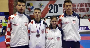 Četiri karataša iz Brotnja nastupili za reprezentaciju Hrvatske na Balkanskom prvenstvu