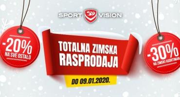 Totalna Sport Vision rasprodaja