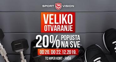 Veliko Sport Vision otvaranje - Foča