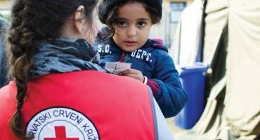 Crveni križ BiH dobio podršku od 38.000 KM za pomoć migrantima