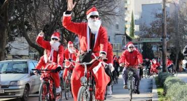 Božićno-Novogodišnja biciklijada ulicama Grada Mostara