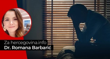 Dr. Romana Barbarić: Anksioznost i depresija kod Hercegovaca su jako česte