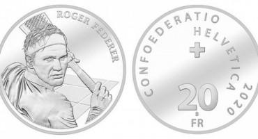 Švicarska izdaje srebrenjak sa likom Rogera Federera