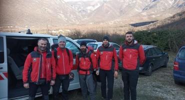 Pripadnici GSS-a spasili lovca kod Mostara koji je doživio infarkt
