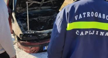 Čapljina: Izgorio osobni automobil