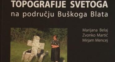 Predstavljanje knjige 'Topografije svetoga na području Buškoga Blata'