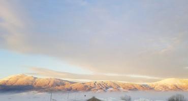 SNJEŽNA IDILA NA KUPRESU Jutros izmjereno -10 stupnjeva