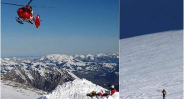 ZATRPANI LAVINOM Potraga za više nestalih skijaša u Austriji i Švicarskoj