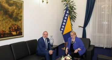 Turković-Grlić Radman: Odnose BiH i Hrvatske razvijati u duhu dobrosusjedstva