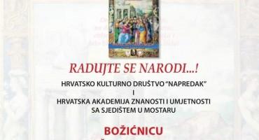 NAJAVA Večeras je Napretkova božićnica u Mostaru, ulaz slobodan