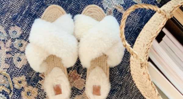 DOMAĆA PRIZVODNJA Bosanske zimske papuče od ovčijeg krzna