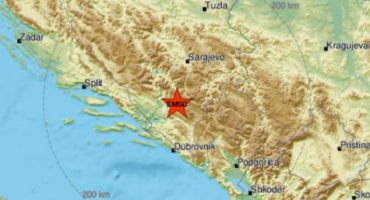 U samo sat vremena Hercegovinu pogodila dva nova potresa