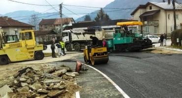 Rekonstruirana ulica u Jablanici