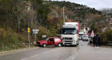 U prometnoj nesreći u Stocu sudjelovala četiri vozila