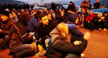 Prosvjednici ispred Uborka: Nećemo odustati, branimo svoje živote