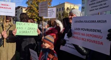 PROSVJEDNICI Policija je na Uborku koristila prekomjernu silu