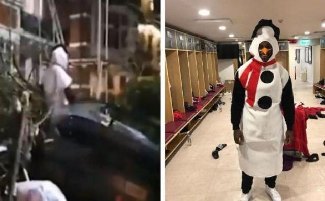 Nogometaš West Hama izazvao prometnu nesreću u kostimu snjegovića