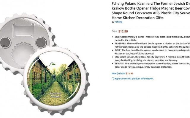 Amazon povukao božićne ukrase sa slikama Auschwitza