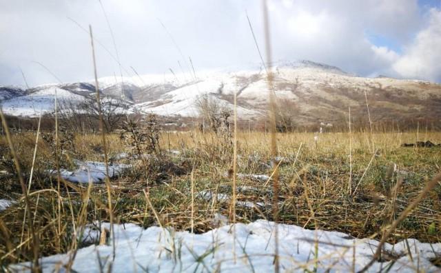 PRVI OVE ZIME Snijeg zabijelio okolicu Mostara