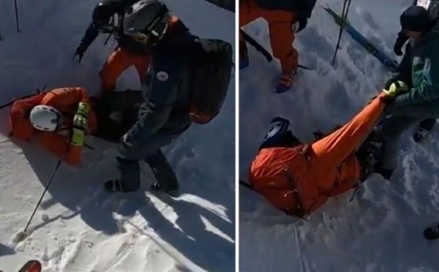 Ivica Kostelić nezgodno pao na skijanju