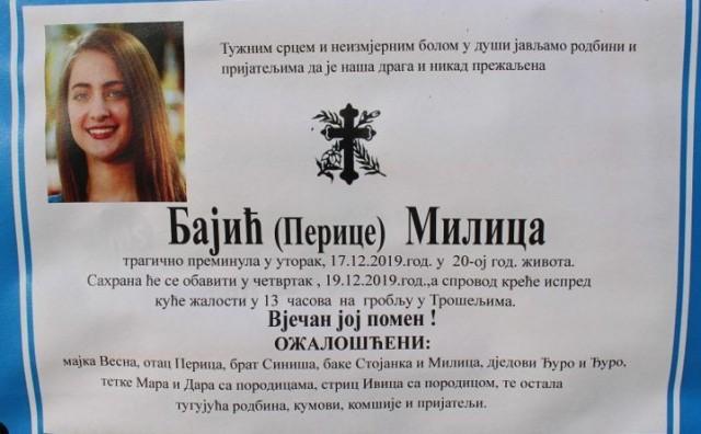 Svirepo ubojstvo 20-godišnjakinje potreslo i njene bivše nastavnike