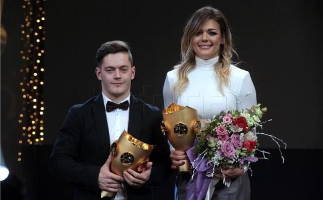IZBOR SN Sandra Perković i Tin Srbić najbolji sportaši Hrvatske