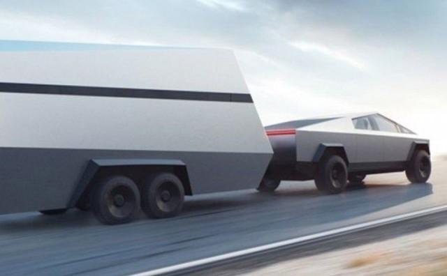Teslin kamionet snimljen na ulici – kao da je sa druge planete