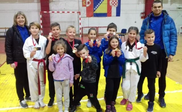 USPJEŠNA GODINA Taekwondo klub Cro Star nagradio najbolje sportaše