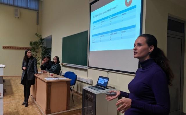 Čak 49 posto srednjoškolaca u Mostaru ne konzumira voće na dnevnoj bazi!