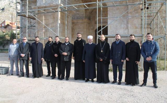 Mostarski muftija uručio donaciju za Sabornu crkvu