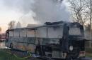 U Hrvatskoj izgorio školski autobus, djeca evakuirana