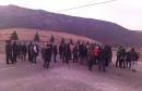 BLOKIRANA DEPONIJA UBORAK Prosvjednici poručili da se ne boje policije i da štite sebe i svoje obitelji