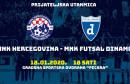 FUTSAL Na Pecaru stiže zagrebački Dinamo