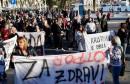 SPLIT Mimohod 'Pravda za sve, otpor sustavu'
