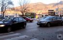 Prometna nesreća kod Staklene banke u Mostaru