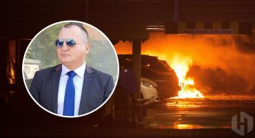 Zapaljen automobil savjetnika bivšeg ministra sigurnosti Dragana Mektića