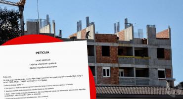 OGORČENI NA URBANIZAM Pola Brijega potpisalo peticiju, a investitor nastavio gradnju