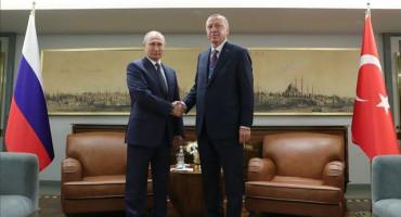 ERDOGAN I PUTIN Svečano obilježili početak rada plinovoda Turski tok