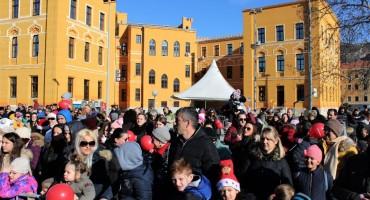 MOSTAR Mališani uživali u raznolikom i bogatom programu na Silvestrovo