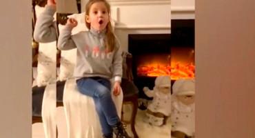 Pogledajte kako 4-godišnjakinja imitira Kolindu